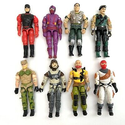 $ CDN19.82 • Buy Vintage 1980's Hasbro GI Joe Action Force Figures Collection X 8 Job Lot 1
