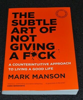 AU17.77 • Buy The Subtle Art Of Not Giving A F*ck By Mark Manson