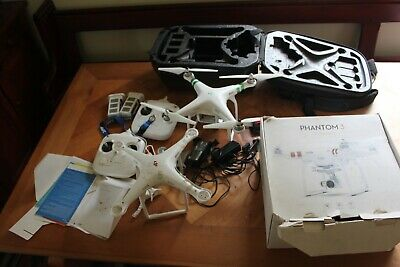 AU450 • Buy Dji Phantom 3 Standard, Drone Good Condition, Drone 2 For Spares Or Repairs