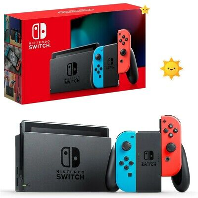 AU349.50 • Buy PLAYGAME _ Nintendo Switch Neon Joy-Con Console NEW 100% - Freeship.