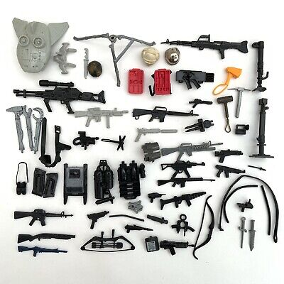 $ CDN39.25 • Buy Vintage 1980's Hasbro GI Joe Action Force Figure Accessories Weapons Job Lot 6