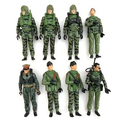 $ CDN8.60 • Buy Vintage 1980's Palitoy GI Joe Action Force Figures Collection X 8 Job Lot 8