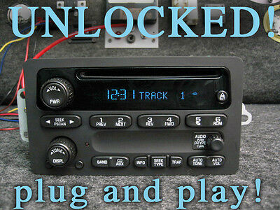 $230 • Buy UNLOCKED! 03 04 05 06 CHEVY SIERRA TAHOE YUKON SILVERADO STEREO RADIO CD Player