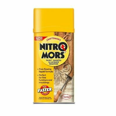 £17.99 • Buy Nitromors Craftsman's Paint & Varnish Remover - 750ml FREE DELIVERY