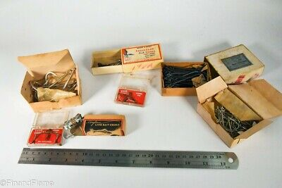$ CDN5.45 • Buy Vintage Mustad & Wright & McGill Antique Fishing Hook Lot In Boxes LC31