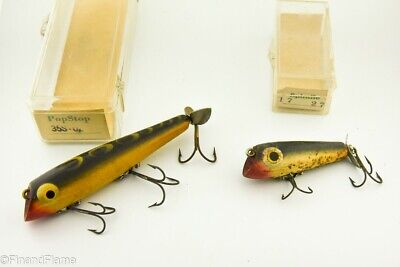 $ CDN8.16 • Buy Vintage Florida Porter Minnow Antique Fishing Lure Lot Of 2 In Boxes LC23