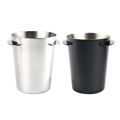 $14.07 • Buy Stainless Steel Coffee Dosing Cup Sniffing Mug Part Fit For 51mm Espresso