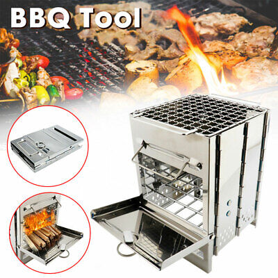 £17.99 • Buy Portable Camping Cooking BBQ Stove Picnic Cooker Backpacking Outdoor Equipment