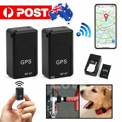 AU20.43 • Buy Mini Real-Time Portable GF07 Magnetic Tracking Device GPRS Vehicle Locator