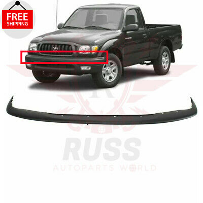 $78.15 • Buy For 01-04 TOYOTA TACOMA Textured Black Front Upper Bumper Filler Panel TO1087112