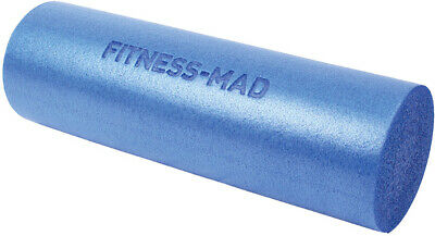 AU28.33 • Buy Fitness Mad Foam Roller Blue 45cm Muscle Therapy Home Gym Exercise Pilates Yoga
