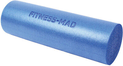 AU35.16 • Buy Fitness Mad Foam Roller Blue 45cm Muscle Therapy Home Gym Exercise Pilates Yoga