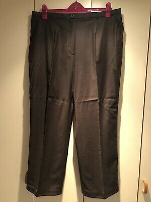 Cotswold Collection Womens Brown Trousers Size 20 • 1.99£