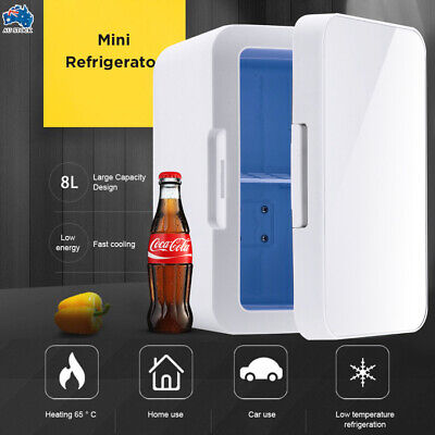 AU57.99 • Buy MEW 8L 2 In1 Home Car Mini Portable Fridge Small Drinks Beer Cooler Bar Freezer