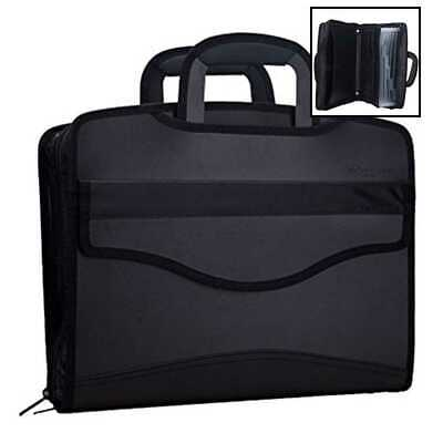 $42.13 • Buy Business Document Bag Messenger Work BriefcaseWaterproof Fabric Expanding File