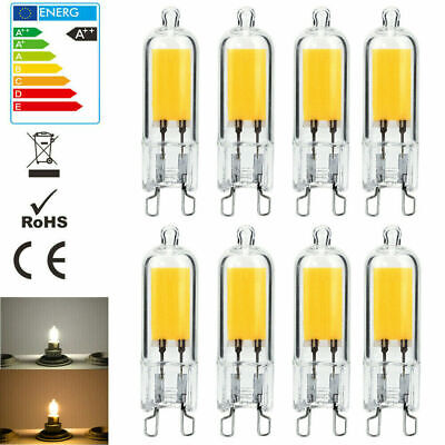 AU1.78 • Buy G9 LED Bulbs 3W 5W Capsule Light COB Dimmable & 40W Halogen Bulb AC220V