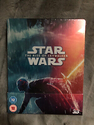 AU62.25 • Buy Ultra Rare OOP Rise Of Skywalker 3D Steelbook