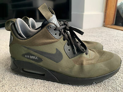 AU62.99 • Buy Nike Air Max 90 Winter Mid Size Uk 8 Eur 42.5 In Green