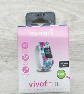 View Details Garmin Vivofit Jr. Junior Daily Activity Tracker Watch For Girls 4-9 Years NEW • 100.00£