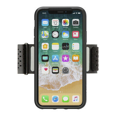 AU45.99 • Buy Belkin Fitness Armband For IPhone X - Black
