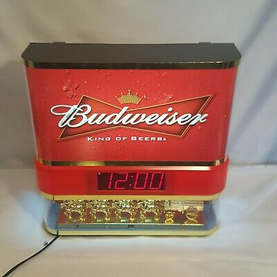 $ CDN151.15 • Buy Budweiser Bud Lighted Clydesdale Showcase Digital Clock