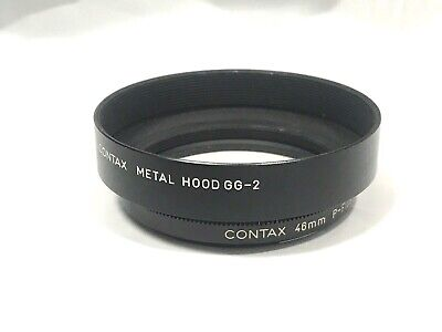 $ CDN111.23 • Buy EXC5 CONTAX 46mm P-FILTER & GG-2 HOOD BLACK SET FOR G2 FROM JAPAN