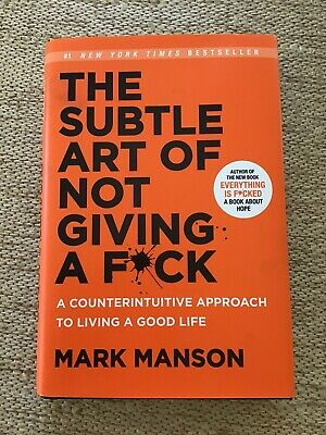AU11.80 • Buy The Subtle Art Of Not Giving A Fck: A Counterintuitive Approach To Living A Good