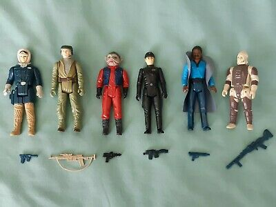 $ CDN200 • Buy Vintage Star Wars Action Figure Lot Of 6 Kenner Complete With Original Weapons