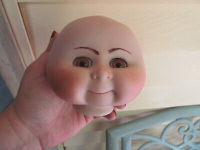 $ CDN12.54 • Buy Porcelain Doll Making And Repair Parts Head 4  W Eyes Cabbage Patch Look