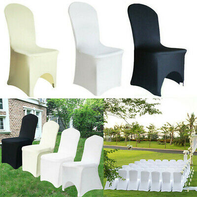 £219.94 • Buy 1-100X Chair Full Covers Spandex Slipover Seat Protector Wedding Banquet Venue
