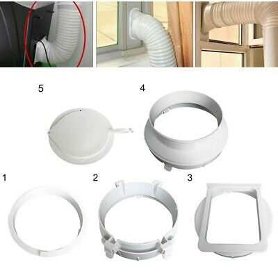 AU16.57 • Buy Exhaust Duct Interface Hose Tube Adaptor For Portable Air Conditioner Tube 15CM