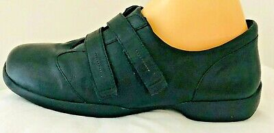 AU24.99 • Buy Ziera Shoes,ladies Black Leather Flats Shoes Size 40xw,work/casual Wear.
