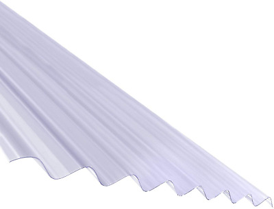 £50.31 • Buy 2.5m Plastic Corrugated Roof Sheet Corrapol PVC Roofing Shed Garage Barn Lean-to