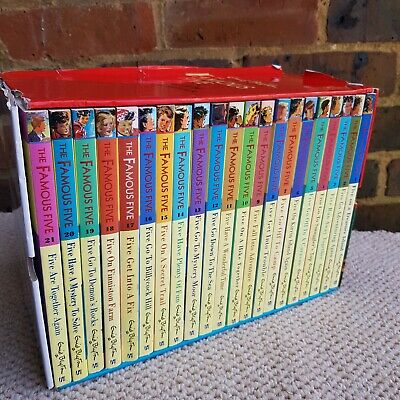 £32.95 • Buy Enid Blyton The Famous Five 21 Exciting Adventures! Paperbacks Set In Case
