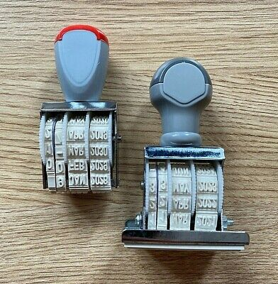 £4.73 • Buy Manual Rubber 2019-2030 Date Paid Stamp Stamper Home Office Work Business UK