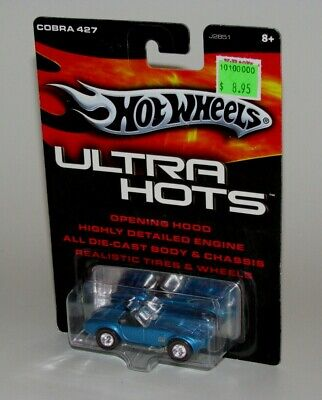 $7.99 • Buy Hot Wheels Ultra Hots Shelby Cobra 427 Diecast Car Blue 1:64 Scale Brand New!!