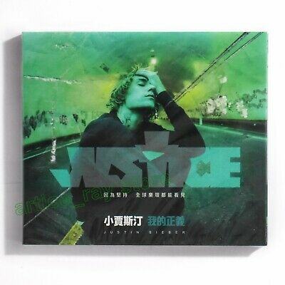AU39.34 • Buy Justin Bieber Justice Taiwan CD BOX Holy Anyone Lonely 2021 NEW