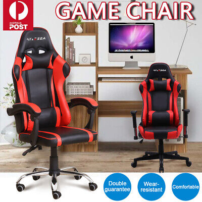 AU99.99 • Buy Gaming Chair Office Executive Computer Game Chairs Seating Racing Recliner AU