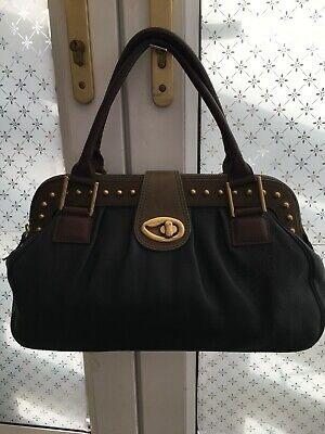 Genuine Rare Paul Smith Three Colour Leather Bowling Doctor Style Lge Hand Bag • 30£