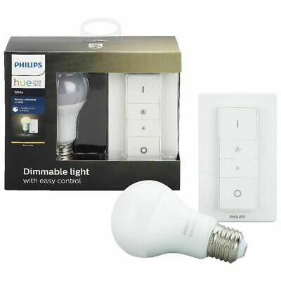 AU56 • Buy Philips Hue Wireless Dimming E27 9.5W Warm White Light Bulb/800LM/Switch Dimmer