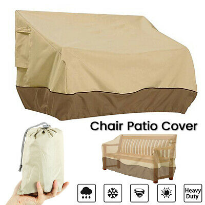 AU33.35 • Buy Patio Chair Cover Lounge Seat Cover Waterproof Outdoor Lawn Furniture Cover A
