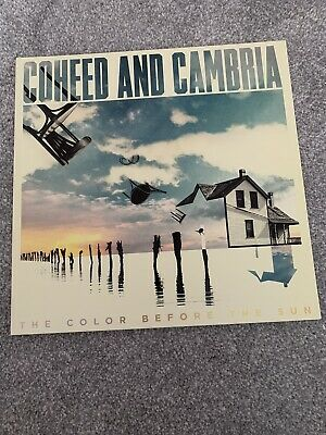 Coheed And Cambria - The Color Before The Sun Vinyl & Cd • 15£