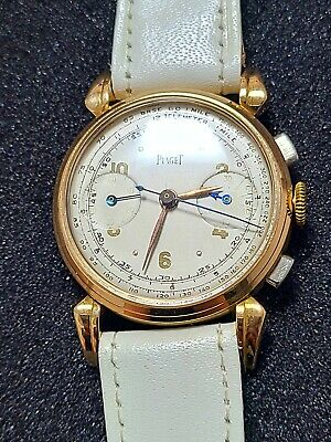 $ CDN774.88 • Buy Piaget 18K Solid Gold Chronograph Vintage Watch