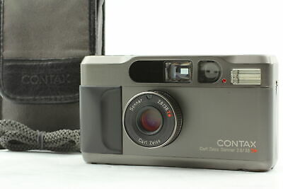 $ CDN1374.77 • Buy [Near MINT] Contax T2 Titan Black 35mm Point & Shoot Film Camera From JAPAN