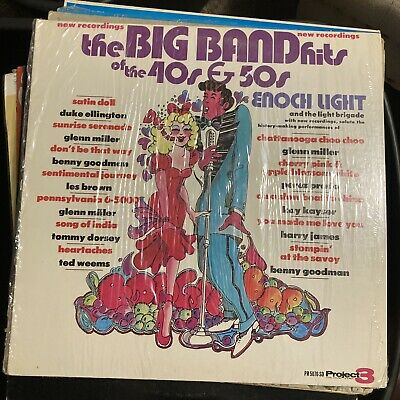 $12.25 • Buy Big Band Hits Of The 40's And 50's Enoch Light Orchestra Jazz LP Glenn Miller