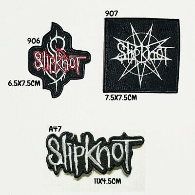 £1.99 • Buy Slipknot Band Rock Metal Music Embroidered Iron On Sew On Patch Badge Jacket New