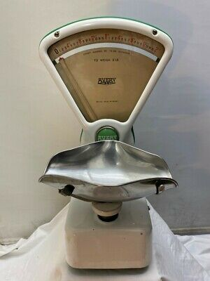 £100 • Buy Original Vintage Avery Weighing Sweet Shop Scale 1970's Confectionery