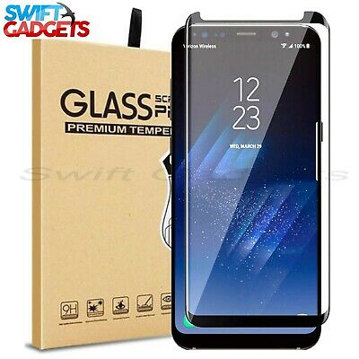 £2.99 • Buy For Samsung Galaxy S8 S9 Plus S7 Edge Full Cover Tempered Glass Screen Protector