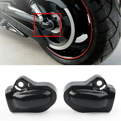 $37.98 • Buy 2PCS Black Bar Shield Rear Axle Cover For Harley V-Rod Muscle VRSCF 2002-2017