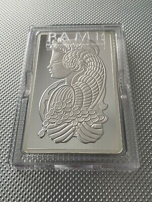 AU440.40 • Buy 5oz PAMP .999 Silver Bullion Bar AUTHENTICATED With Pamp Case And COA
